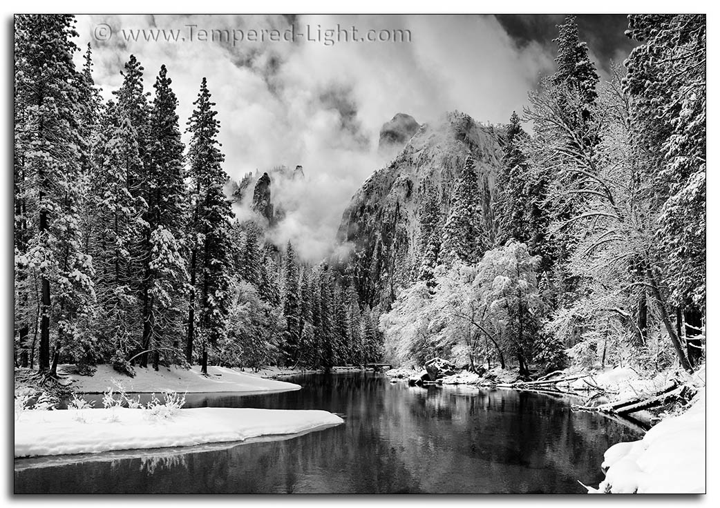 Yosemite Winter Cathedral